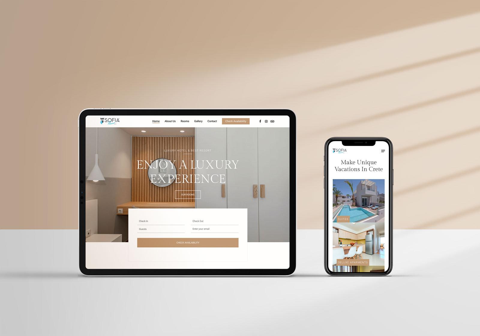 sofia-resort-website